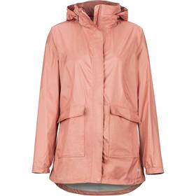 Marmot Ashbury PreCip Eco Jacket Dame coral pink